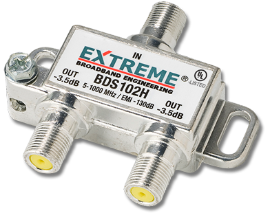 Extreme Broadband Cable Installation Products Splitters
